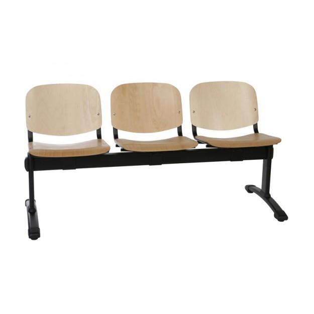 Chaise sur poutre en bois NOBI-P