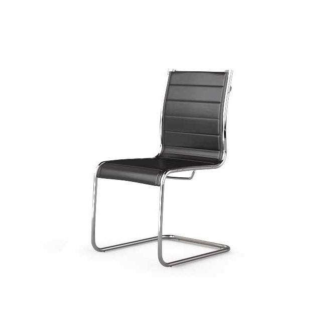 Fauteuil et siège visiteur design en cuir Young design C