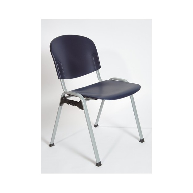 Chaise d'accueil polypro empilable Bruges