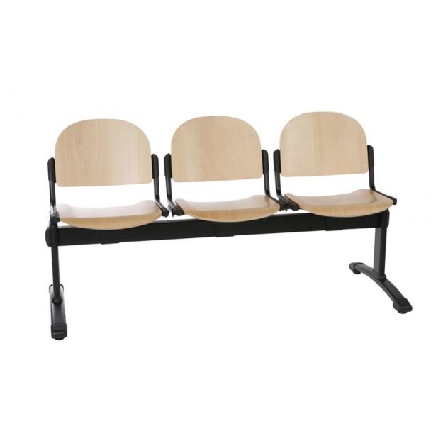 Chaise poutre en bois WOOD-P 2-5 places