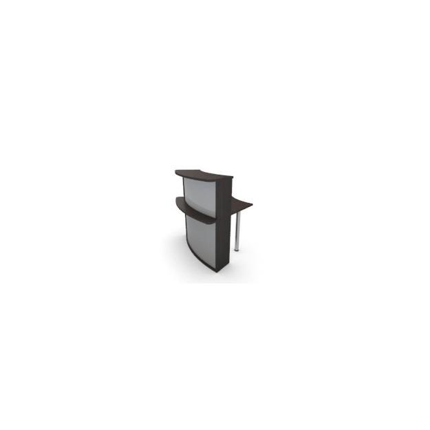 Module haut convexe 45° pour banque d'accueil ACC-A12