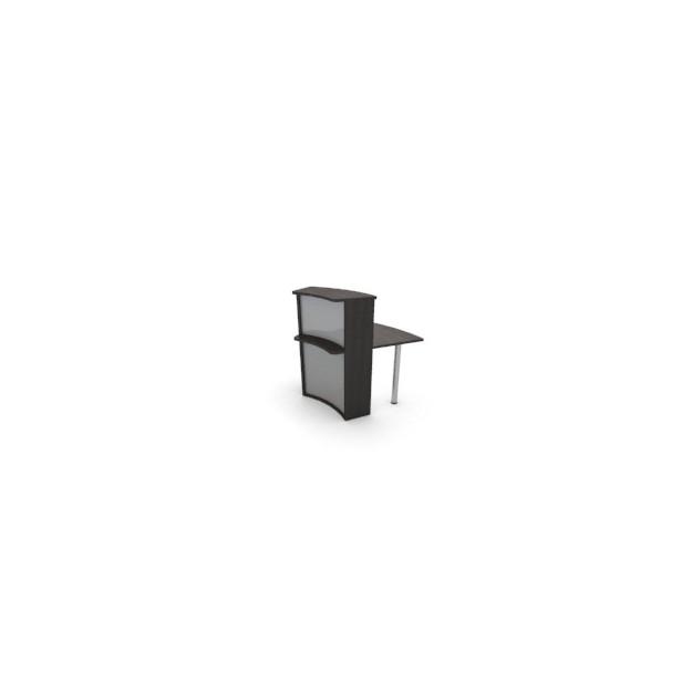 Module haut concave 45° banque d'accueil ACC-A13