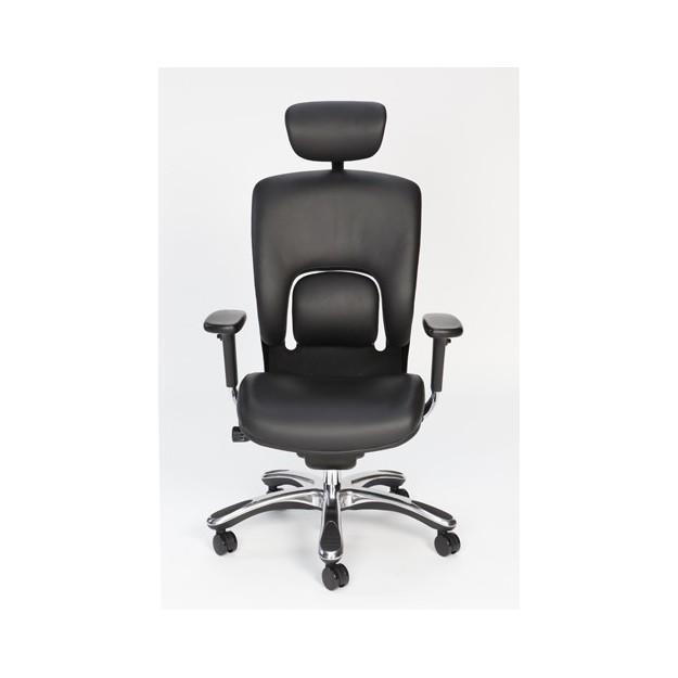 Fauteuil ergonomique design en cuir Modene-C