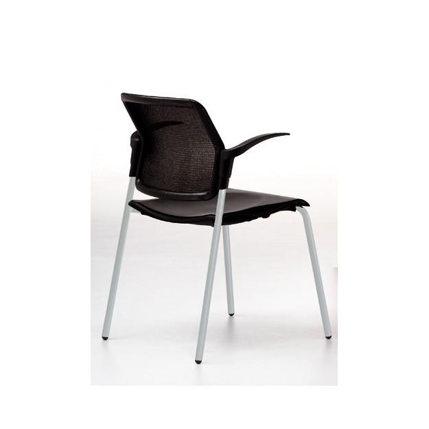 Chaise empilable accueil réunion Verone-T