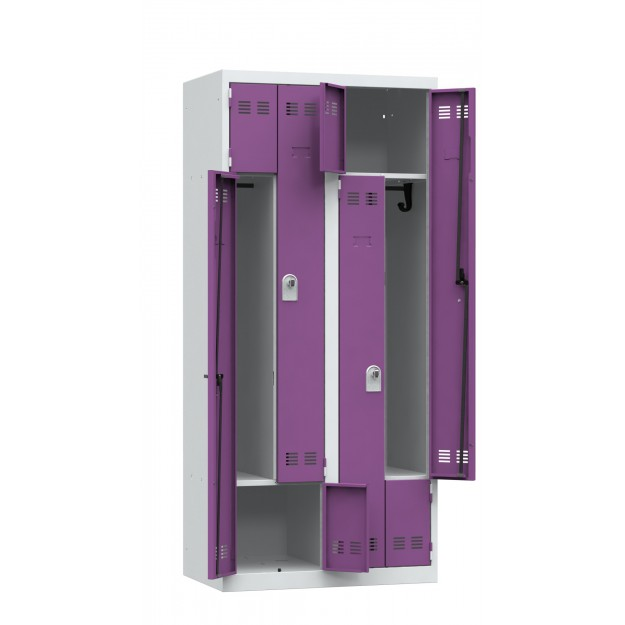 Vestiaire GAIN DE PLACE - 4 cases COMPACT-L4