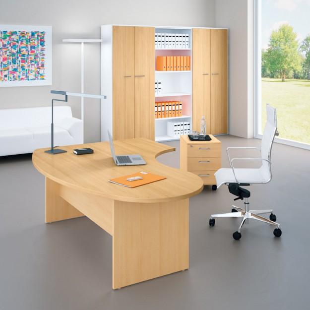 Bureau ergonomique avec retour IDEA-P25
