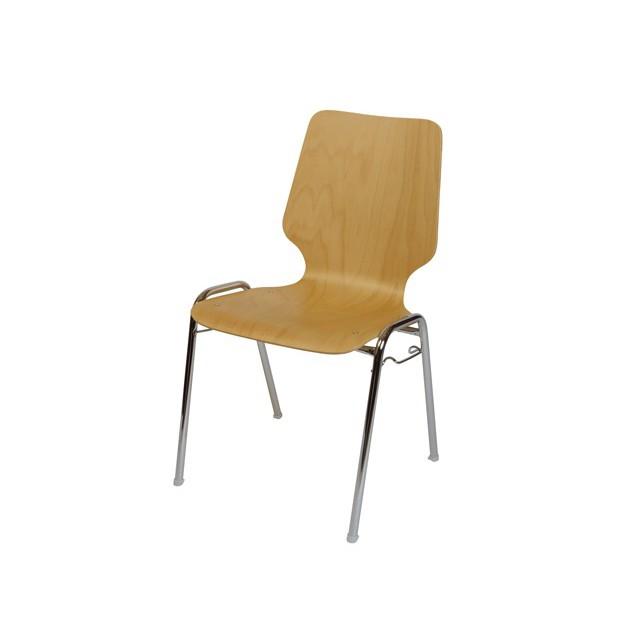 Chaise d'accueil en bois Hampton