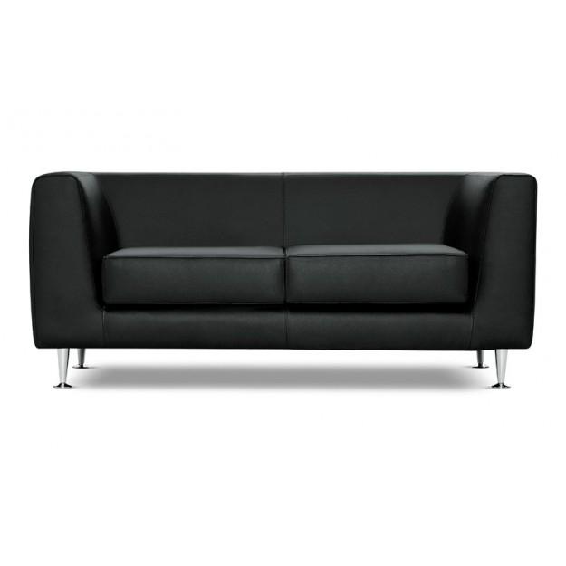 Canapé d'accueil en cuir Malaga-2