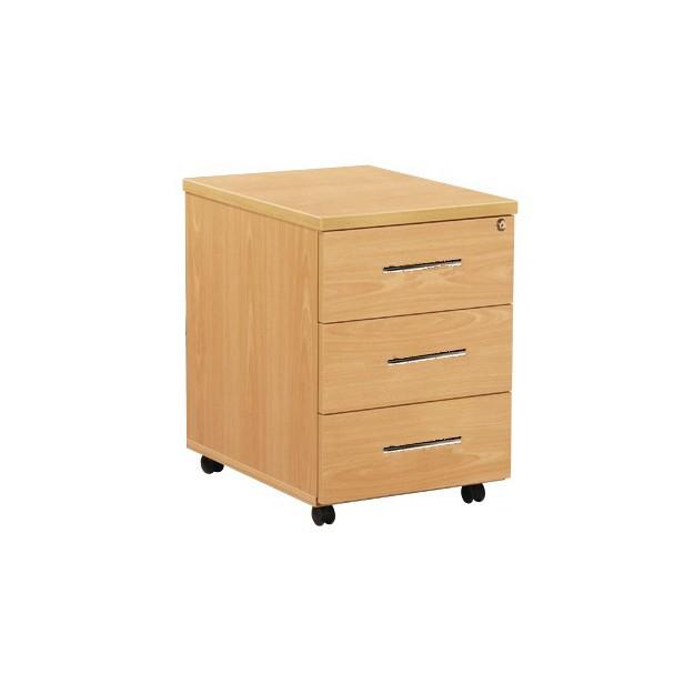 Caisson de bureau mobile 3 tiroirs ACC-R16