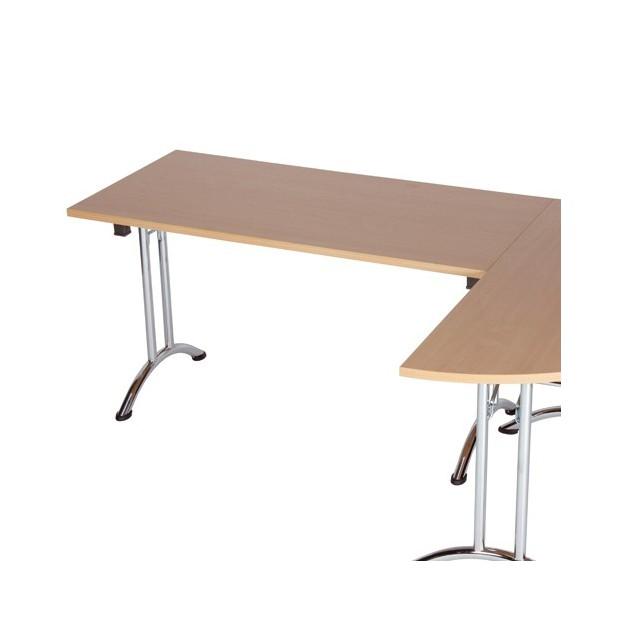 Table pliante empilable Dormans 135x67.5cm